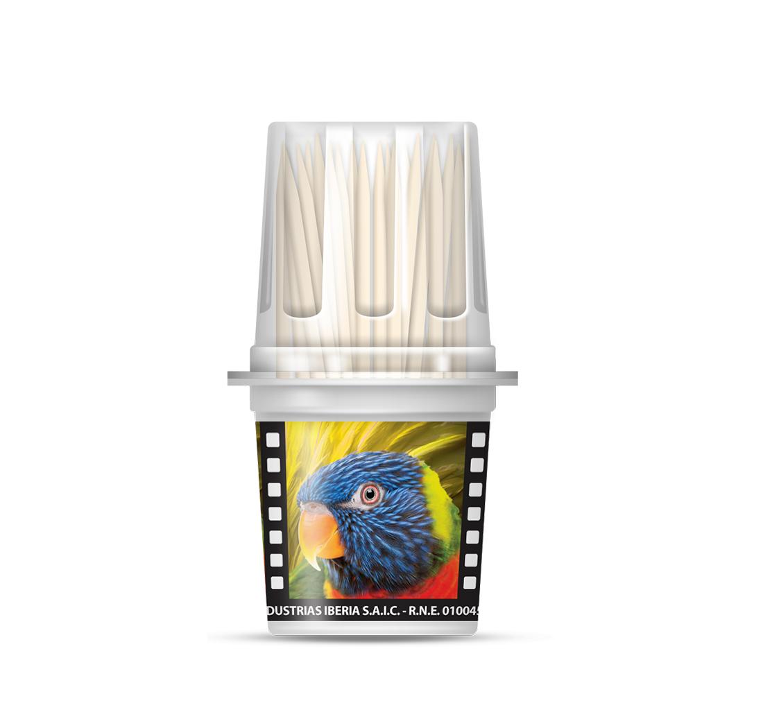 Copetin safari toothpick dispenser x18pcs - Toothpick dispenser ...