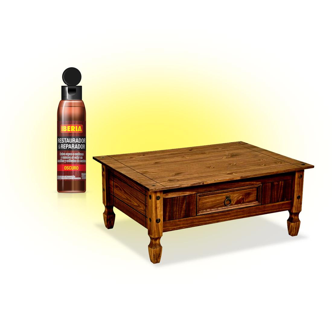 Iberia® Restaurador de Muebles Color Oscuro